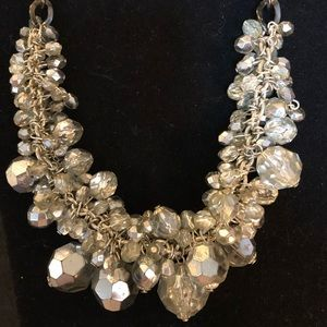 Jewelry - Sparkly 18 inch chunky vintage beaded necklace